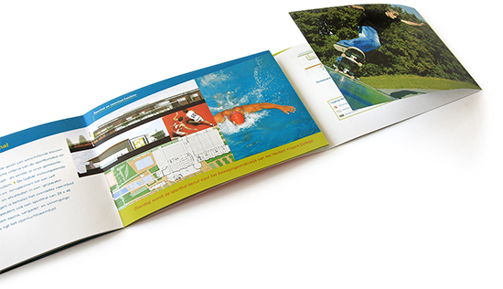 boekje over het project Noordrand Nieuw Vennep; ontwerp voor de gemeente Haarlemmermeer, opengeslagen