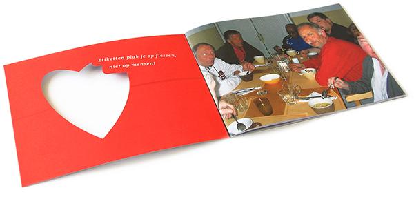 Jaarverslag Kerk & Buurt noord, spread, ontwerp, dtp opmaak en drukwerk,