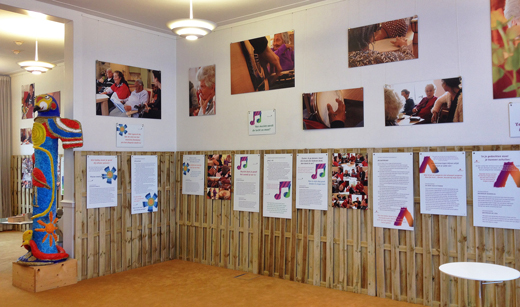 fotopanelen en tekstpanelen voor expositie Leestekens, stichting Cordaan. Productie is ook verzorgd door Blink.